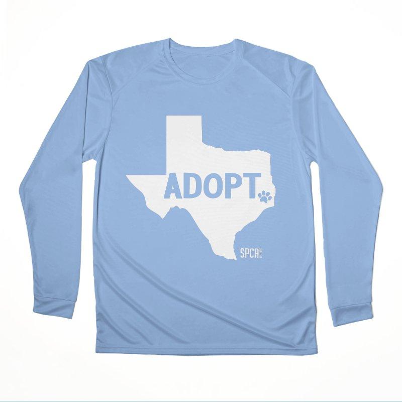 Texas Adopts! Men's Longsleeve T-Shirt by SPCA of Texas' Artist Shop