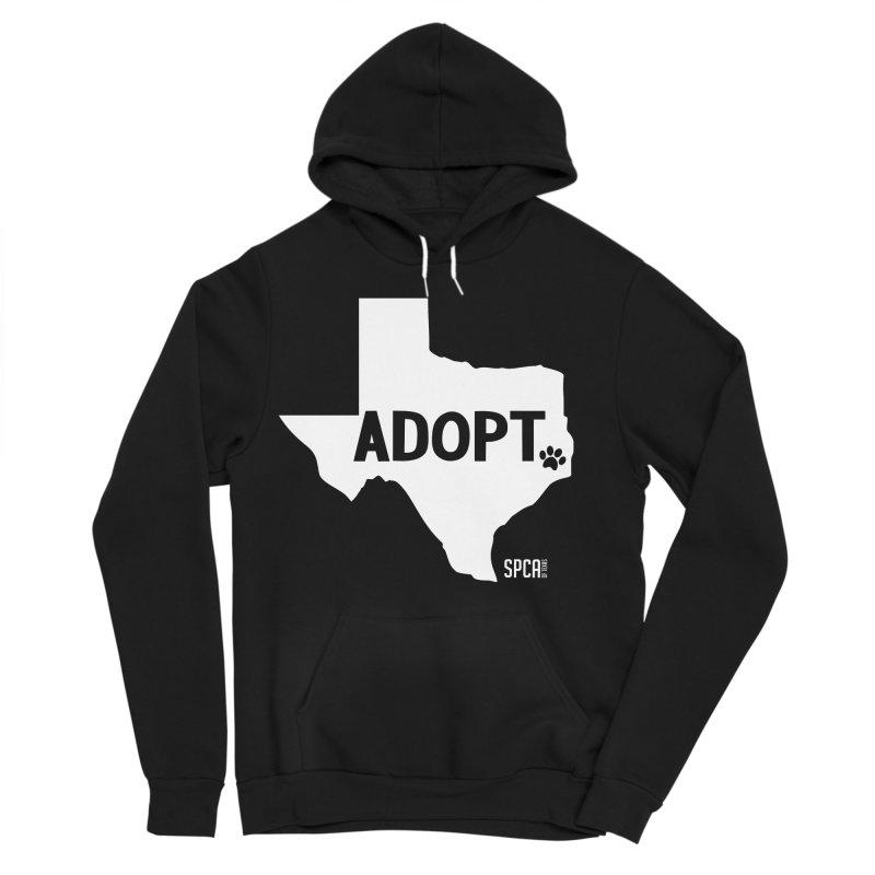 Texas Adopts! Women's Sponge Fleece Pullover Hoody by SPCA of Texas' Artist Shop