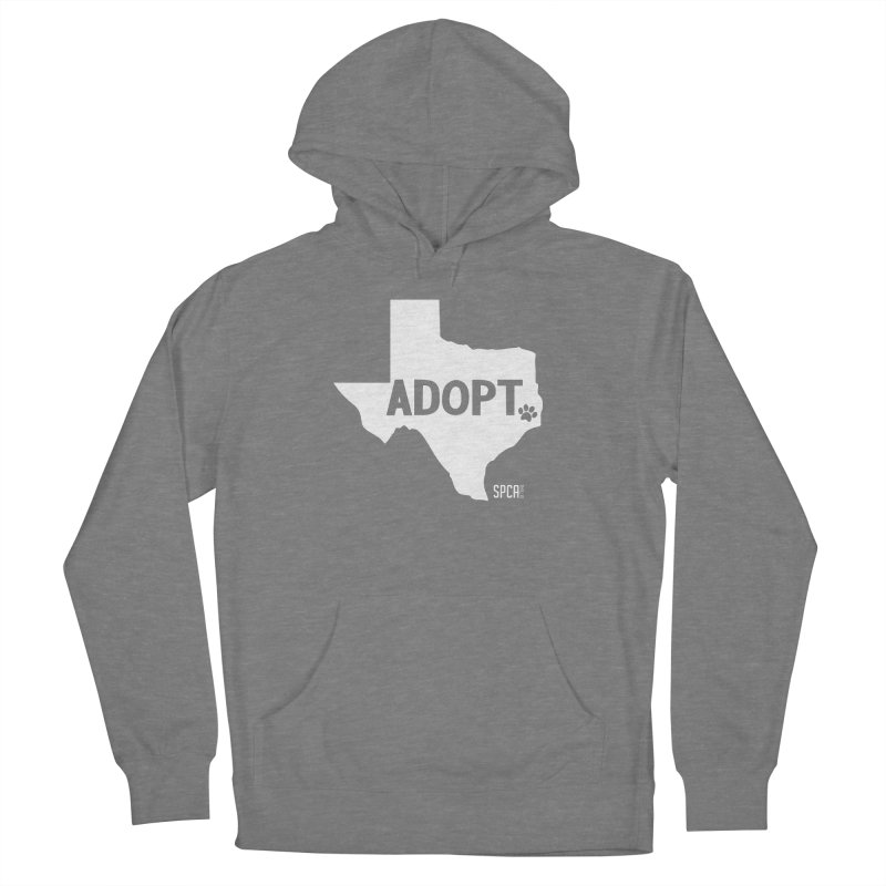 Texas Adopts! Women's Pullover Hoody by SPCA of Texas' Artist Shop