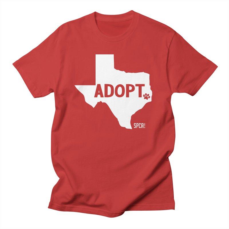 Texas Adopts! Women's Regular Unisex T-Shirt by SPCA of Texas' Artist Shop