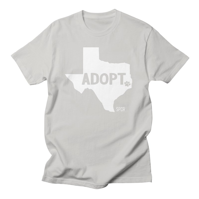 Texas Adopts! Men's T-Shirt by SPCA of Texas' Artist Shop