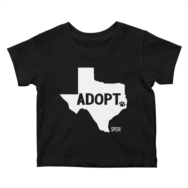 Texas Adopts! Kids Baby T-Shirt by SPCA of Texas' Artist Shop