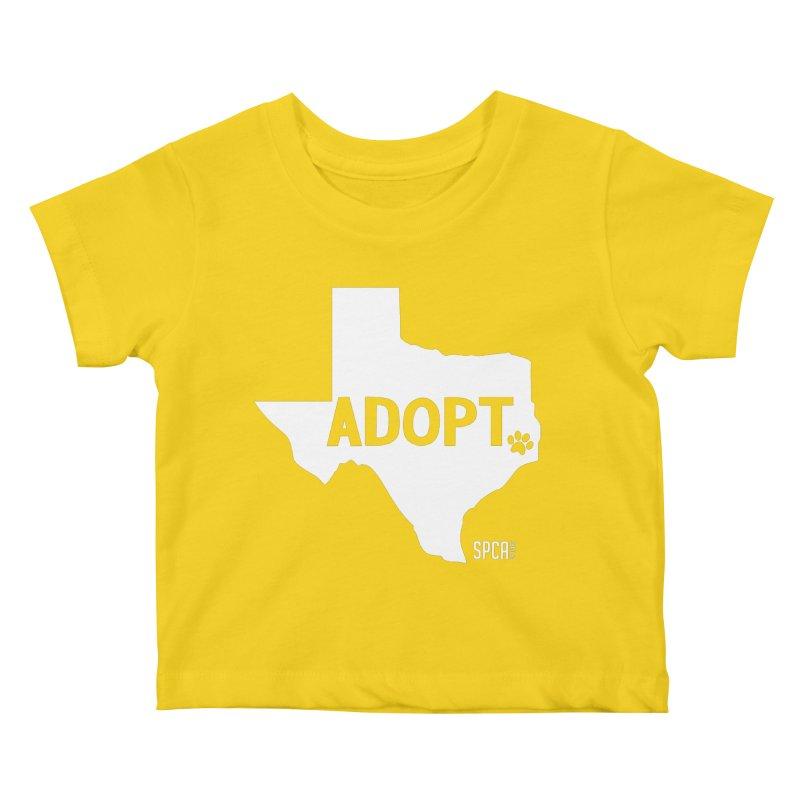 Texas Adopts! Kids Baby T-Shirt by SPCA of Texas' Artist Shop