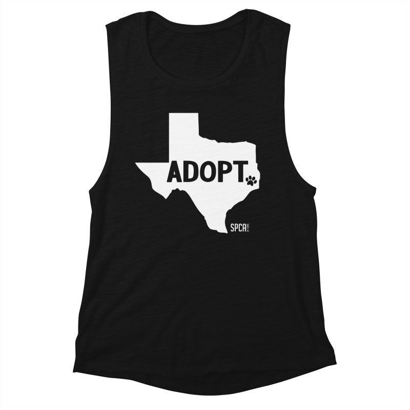 Texas Adopts! Women's Tank by SPCA of Texas' Artist Shop