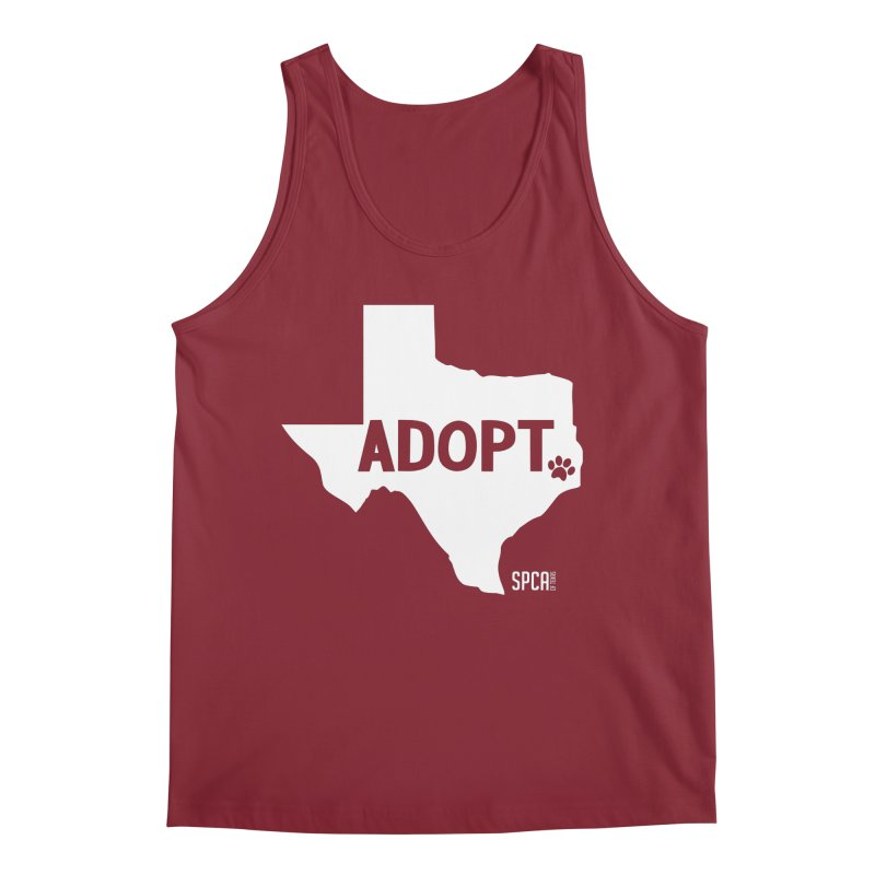 Texas Adopts! Men's Tank by SPCA of Texas' Artist Shop