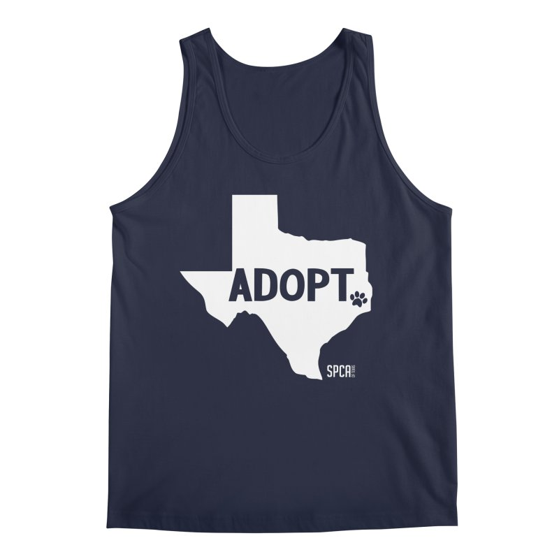 Texas Adopts! Men's Regular Tank by SPCA of Texas' Artist Shop