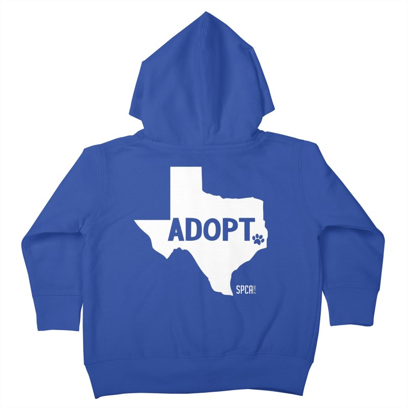 Texas Adopts! Kids Toddler Zip-Up Hoody by SPCA of Texas' Artist Shop