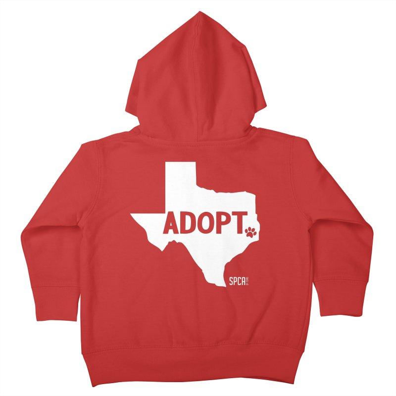 Texas Adopts! Kids Toddler Zip-Up Hoody by SPCA of Texas' Artist Shop