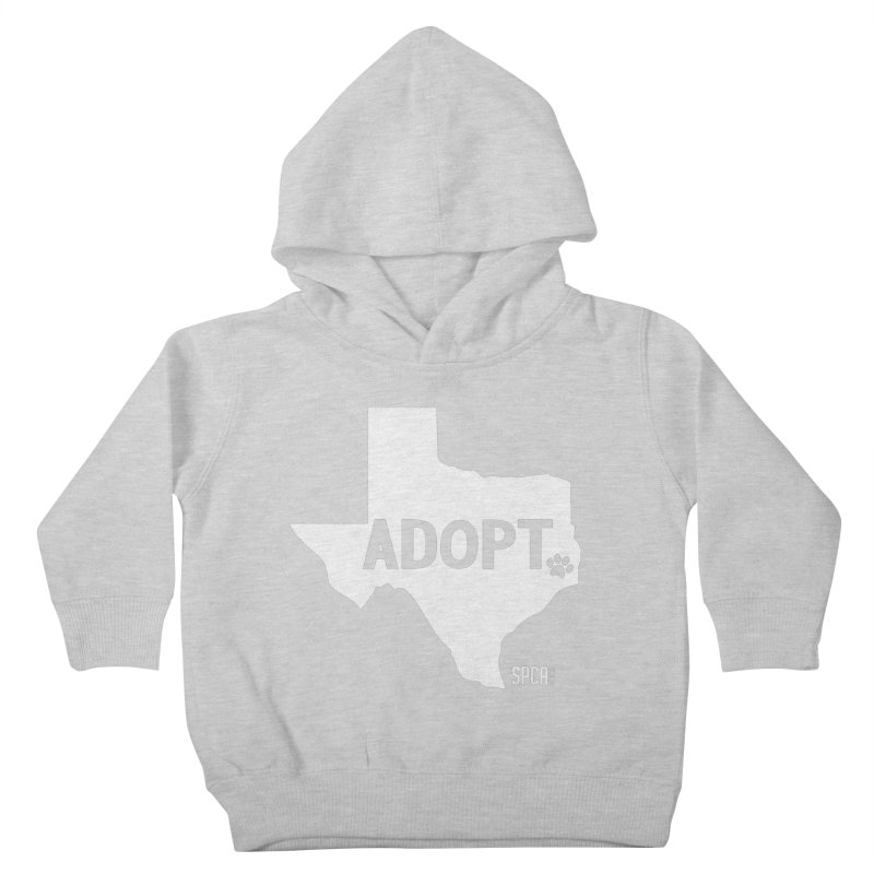 Texas Adopts! Kids Toddler Pullover Hoody by SPCA of Texas' Artist Shop