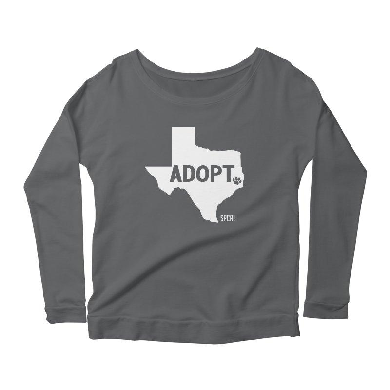 Texas Adopts! Women's Longsleeve T-Shirt by SPCA of Texas' Artist Shop