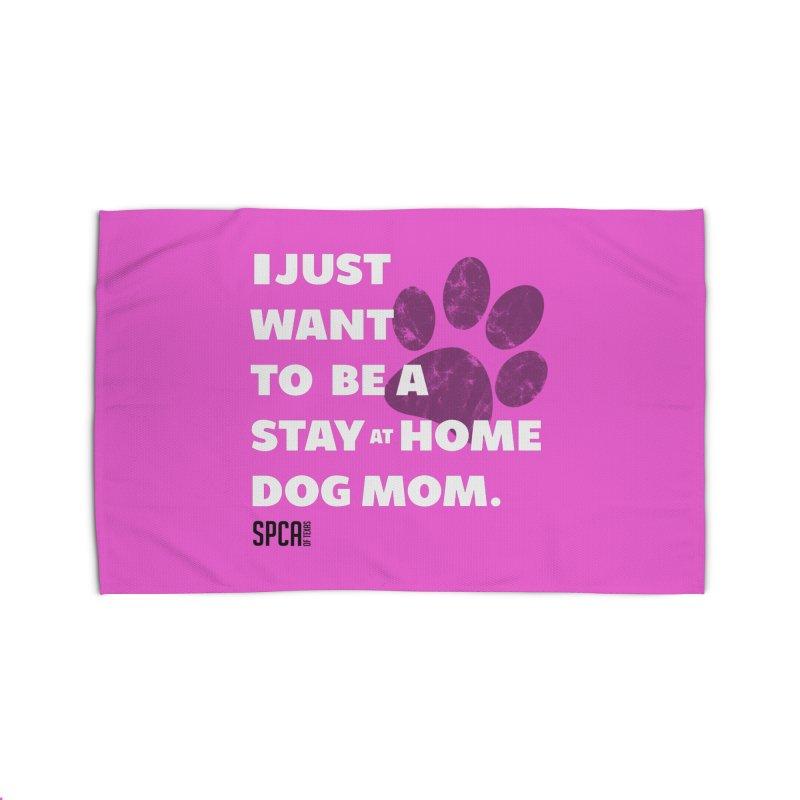 Dog Mom Home Rug by SPCA of Texas' Artist Shop