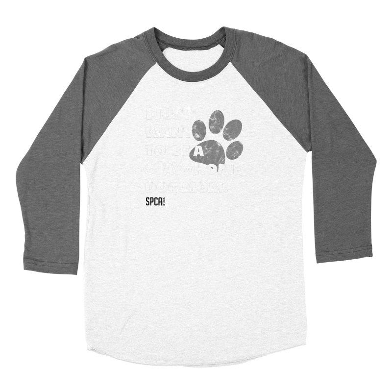 Dog Mom Women's Longsleeve T-Shirt by SPCA of Texas' Artist Shop