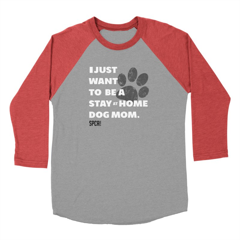 Dog Mom Men's Longsleeve T-Shirt by SPCA of Texas' Artist Shop