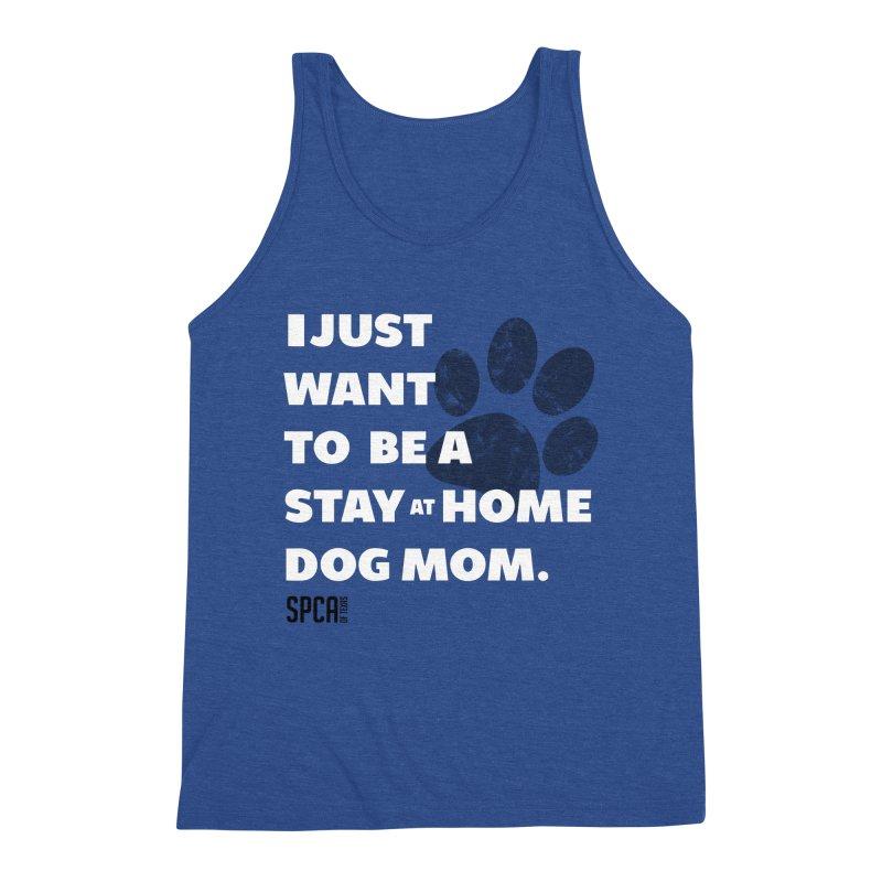 Dog Mom Men's Tank by SPCA of Texas' Artist Shop