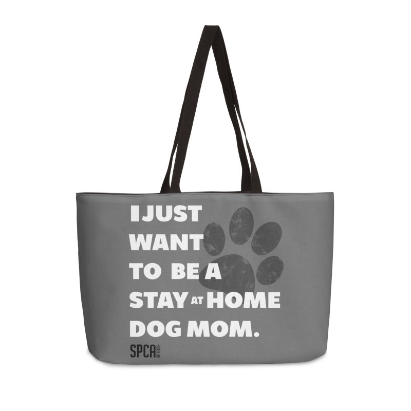 Dog Mom Accessories Bag by SPCA of Texas' Artist Shop