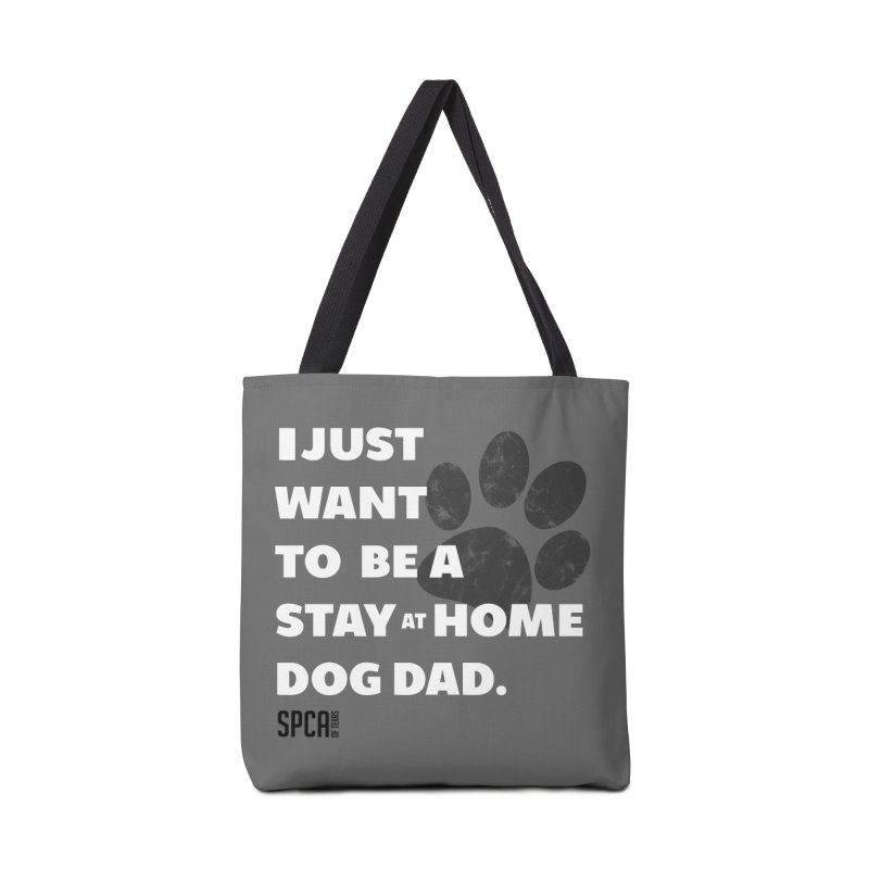 Dog Dad Accessories Bag by SPCA of Texas' Artist Shop