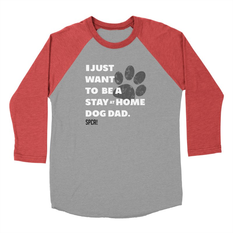 Dog Dad Men's Longsleeve T-Shirt by SPCA of Texas' Artist Shop