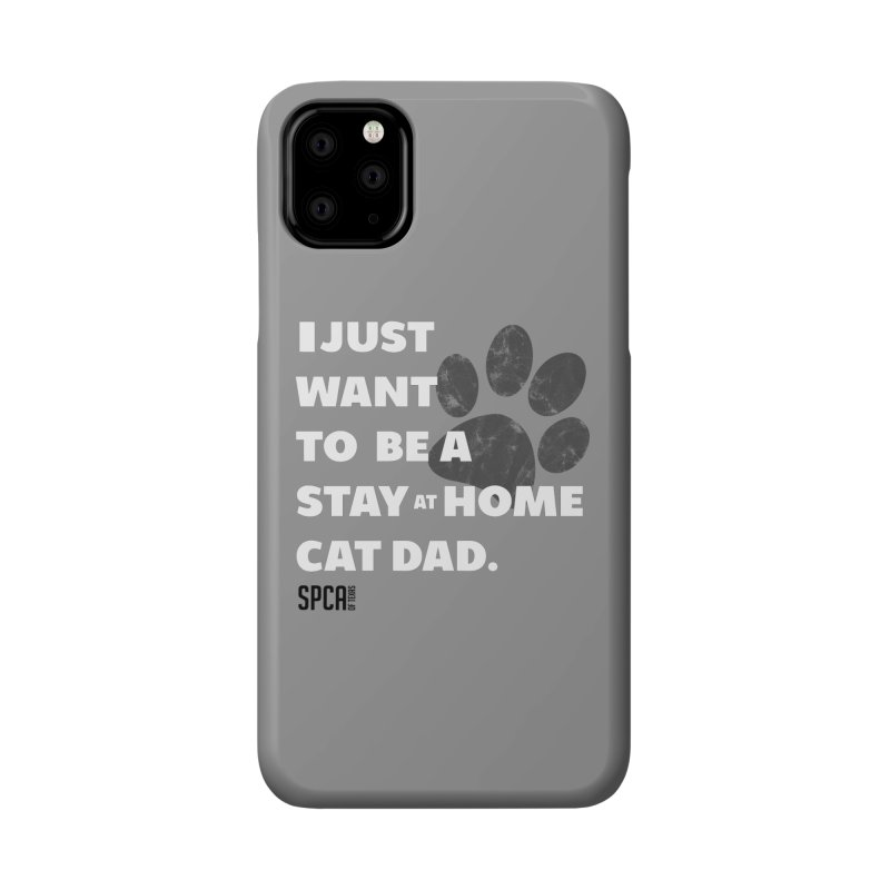 Cat Dad Accessories Phone Case by SPCA of Texas' Artist Shop