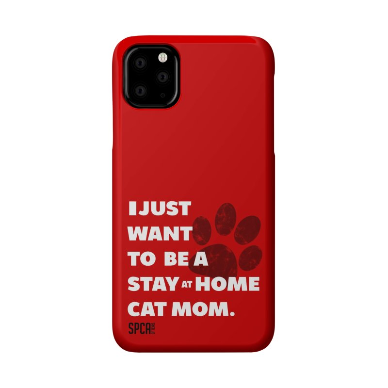 Cat Mom Accessories Phone Case by SPCA of Texas' Artist Shop