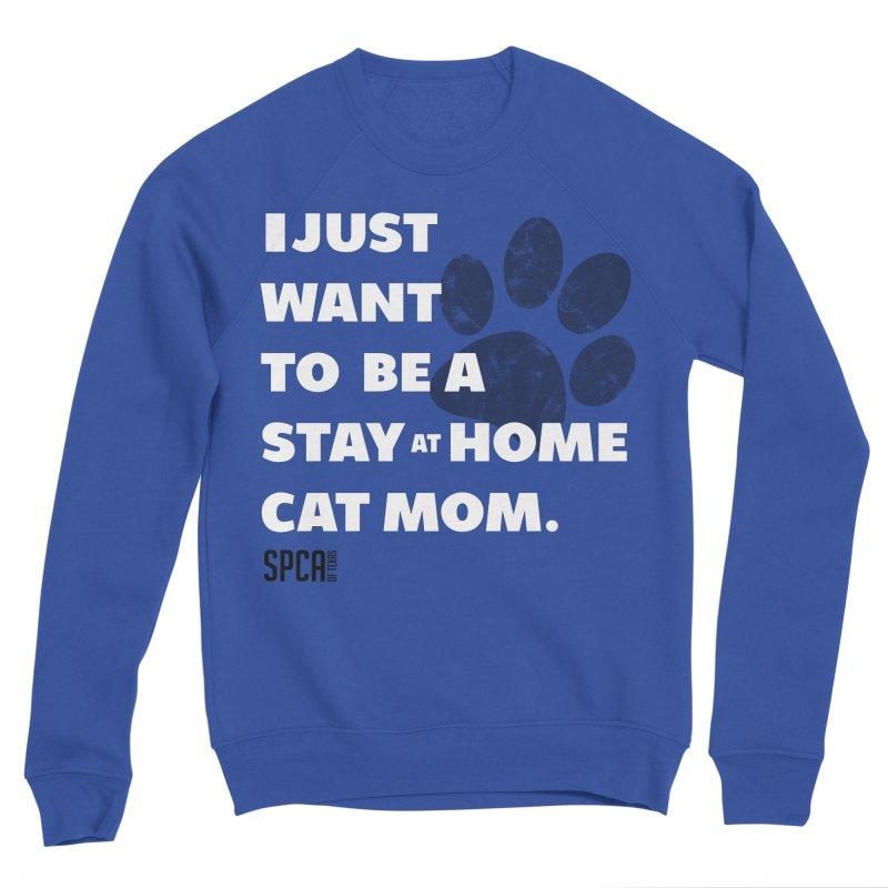 Cat Mom Women's Sweatshirt by SPCA of Texas' Artist Shop