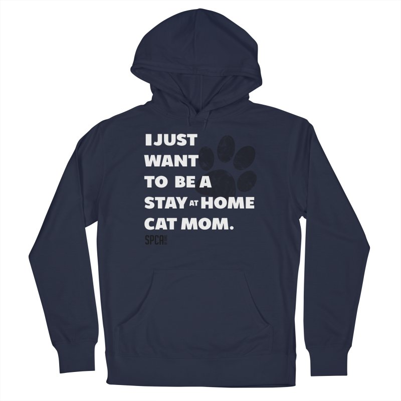 Cat Mom Men's Pullover Hoody by SPCA of Texas' Artist Shop