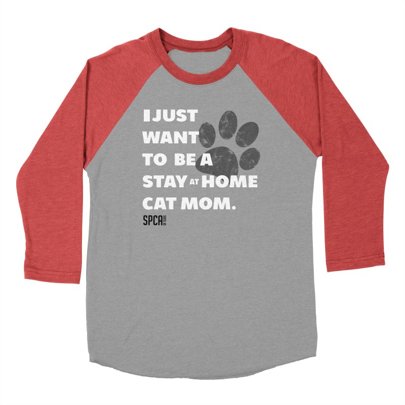 Cat Mom Men's Longsleeve T-Shirt by SPCA of Texas' Artist Shop