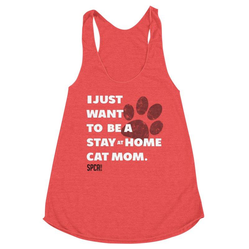 Cat Mom Women's Tank by SPCA of Texas' Artist Shop