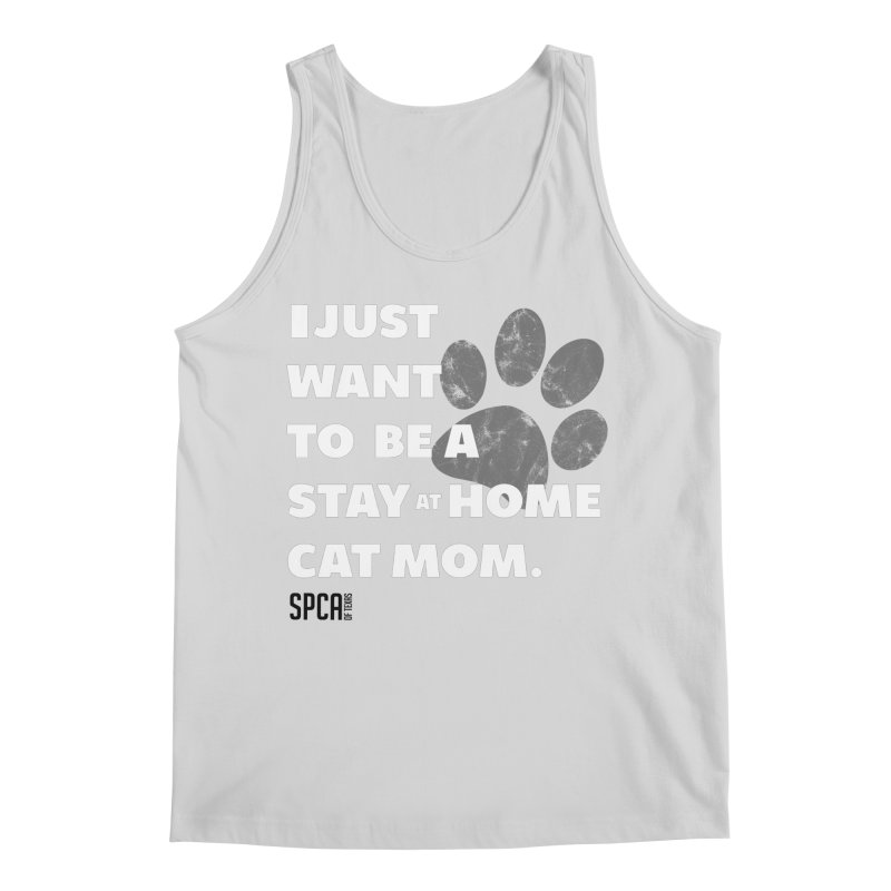 Cat Mom Men's Regular Tank by SPCA of Texas' Artist Shop