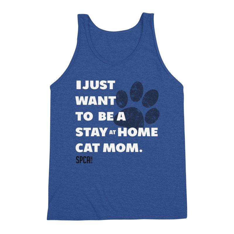 Cat Mom Men's Tank by SPCA of Texas' Artist Shop