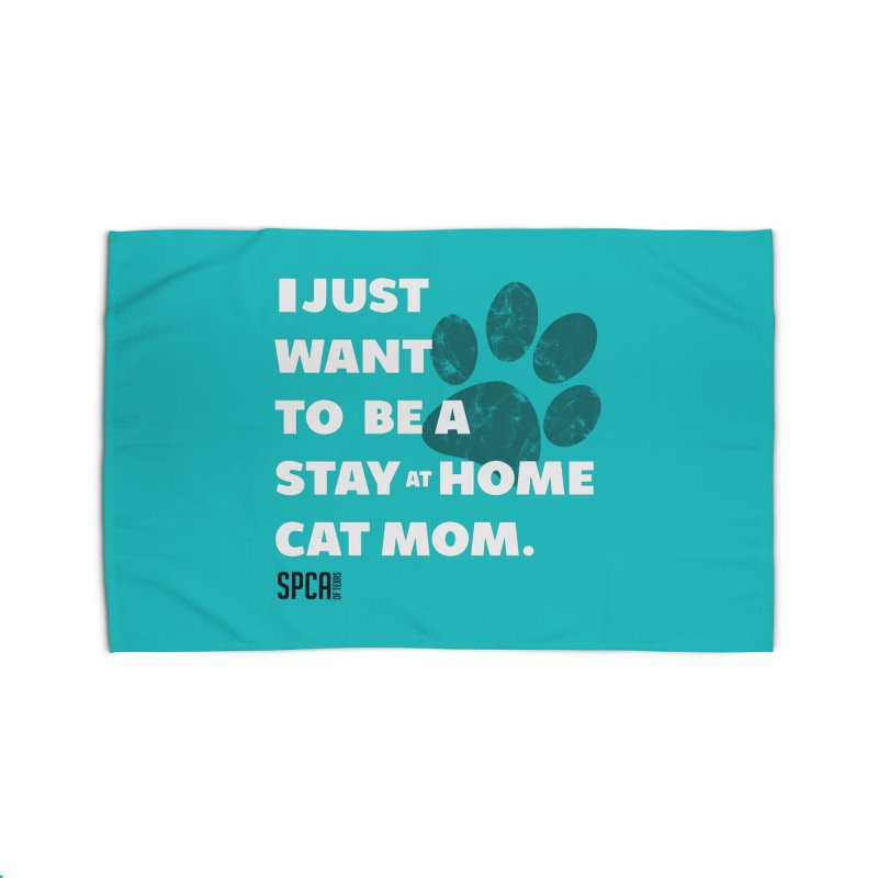 Cat Mom Home Rug by SPCA of Texas' Artist Shop