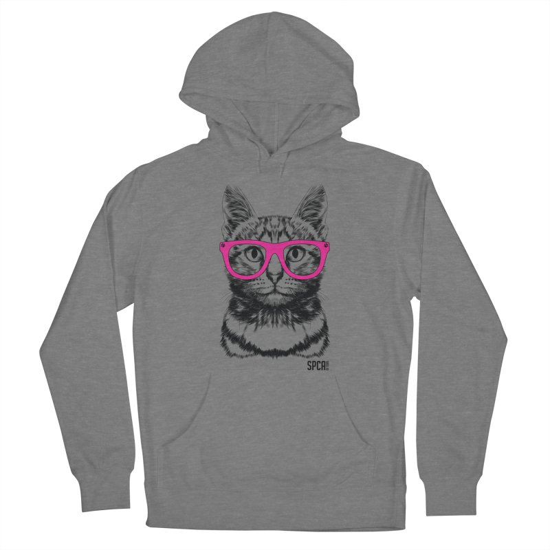 Smarty Cat Women's French Terry Pullover Hoody by SPCA of Texas' Artist Shop