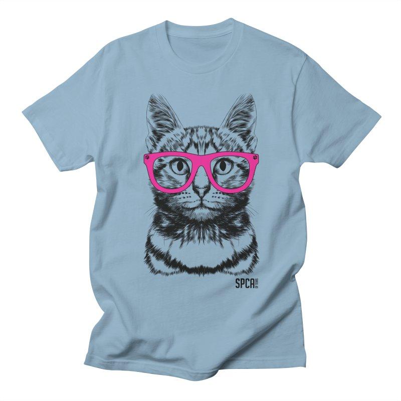 Smarty Cat Women's Regular Unisex T-Shirt by SPCA of Texas' Artist Shop