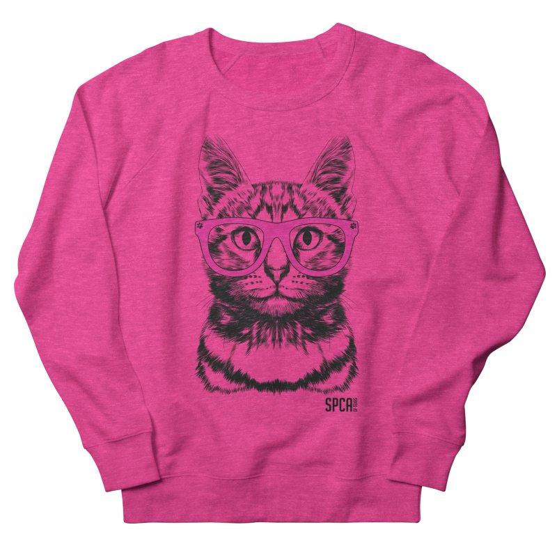 Smarty Cat Men's Sweatshirt by SPCA of Texas' Artist Shop