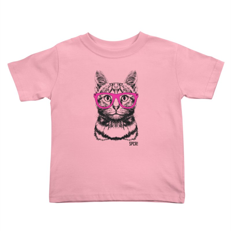 Smarty Cat Kids Toddler T-Shirt by SPCA of Texas' Artist Shop