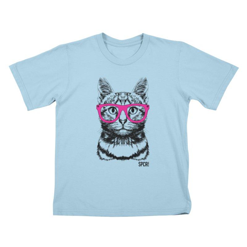 Smarty Cat Kids T-Shirt by SPCA of Texas' Artist Shop