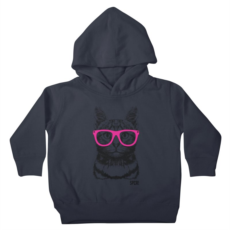 Smarty Cat Kids Toddler Pullover Hoody by SPCA of Texas' Artist Shop