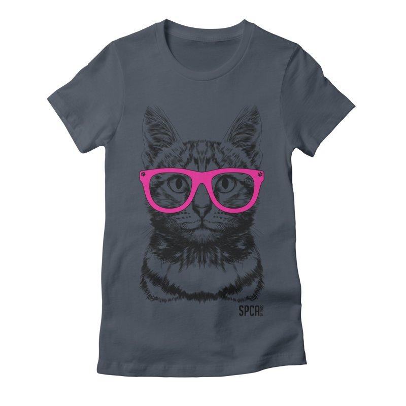 Smarty Cat Women's T-Shirt by SPCA of Texas' Artist Shop