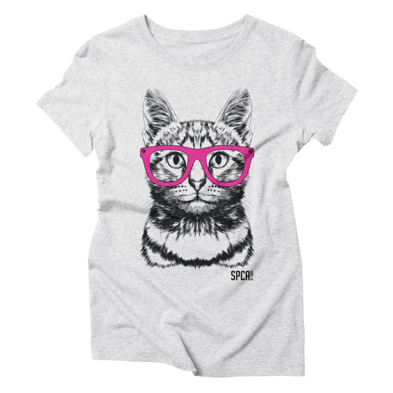 Smarty Cat Women's T-Shirt by SPCA of Texas' Artist Shop