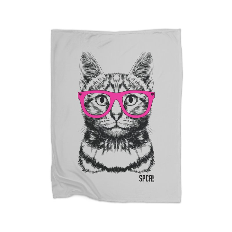 Smarty Cat Home Blanket by SPCA of Texas' Artist Shop