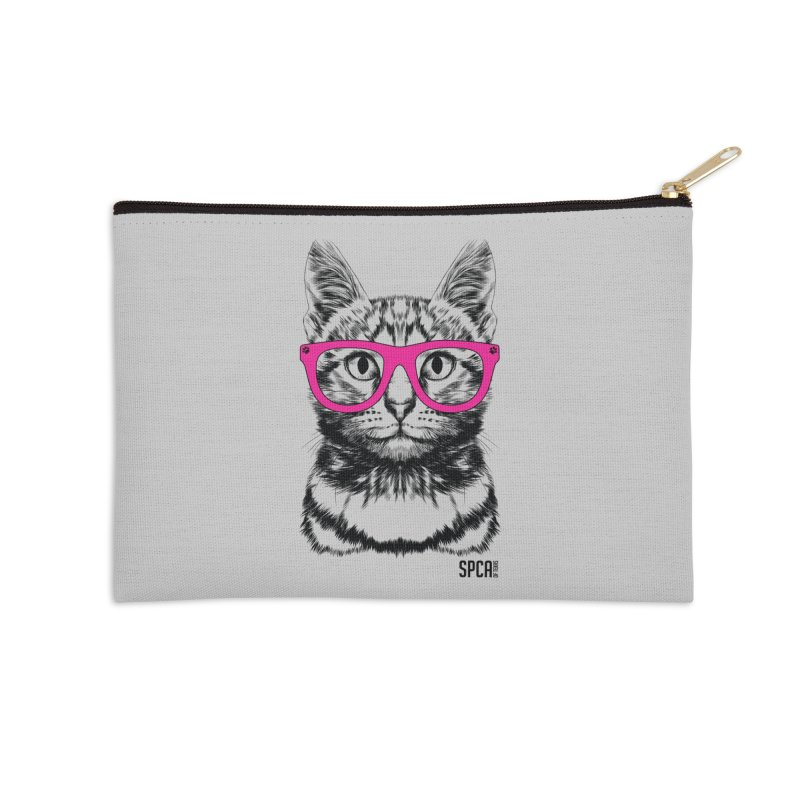 Smarty Cat Accessories Zip Pouch by SPCA of Texas' Artist Shop