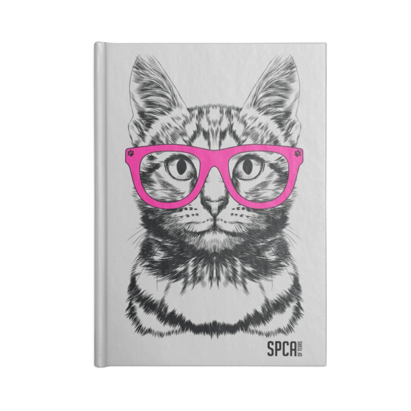 Smarty Cat Accessories Lined Journal Notebook by SPCA of Texas' Artist Shop