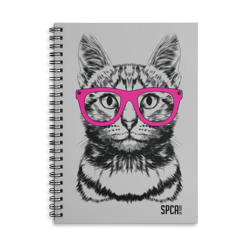 Smarty Cat Accessories Notebook by SPCA of Texas' Artist Shop