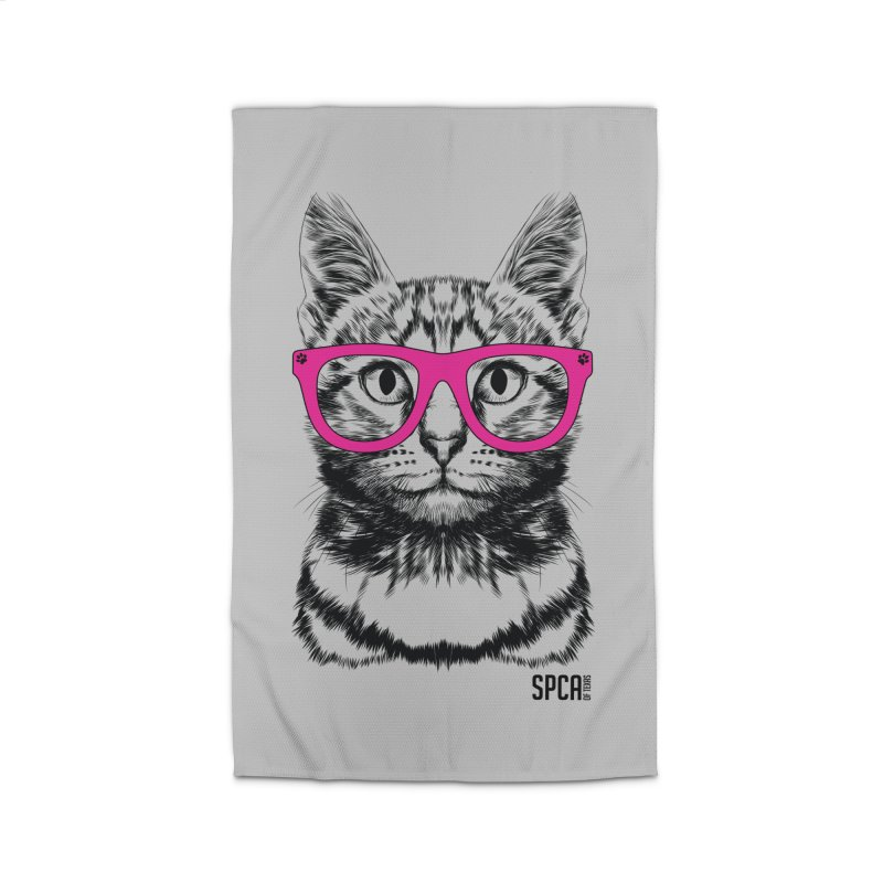 Smarty Cat Home Rug by SPCA of Texas' Artist Shop