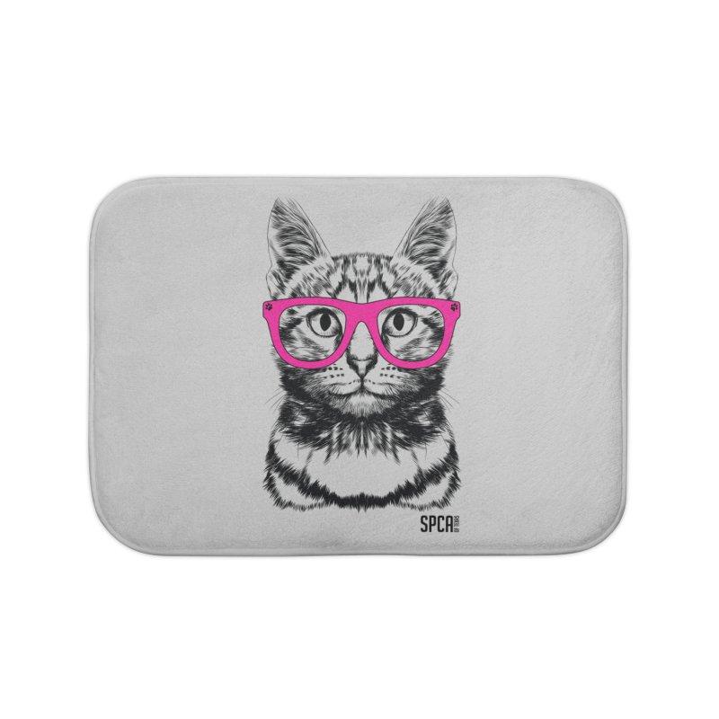Smarty Cat Home Bath Mat by SPCA of Texas' Artist Shop