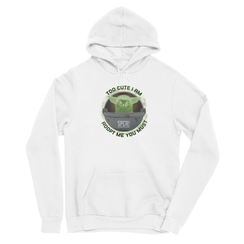 LIMITED EDITION - Baby Yoda Men's Pullover Hoody by SPCA of Texas' Artist Shop