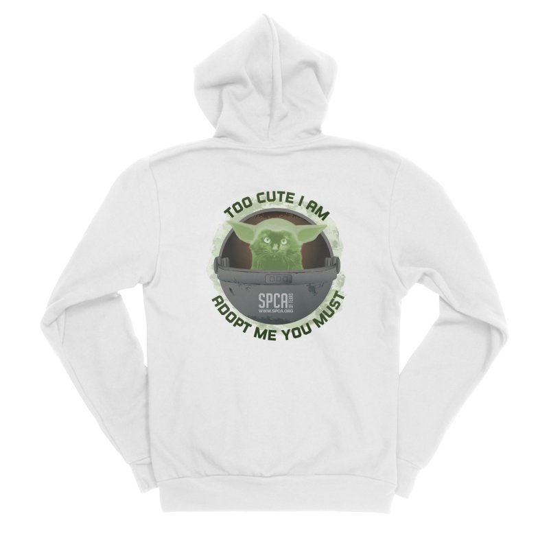 LIMITED EDITION - Baby Yoda Men's Zip-Up Hoody by SPCA of Texas' Artist Shop