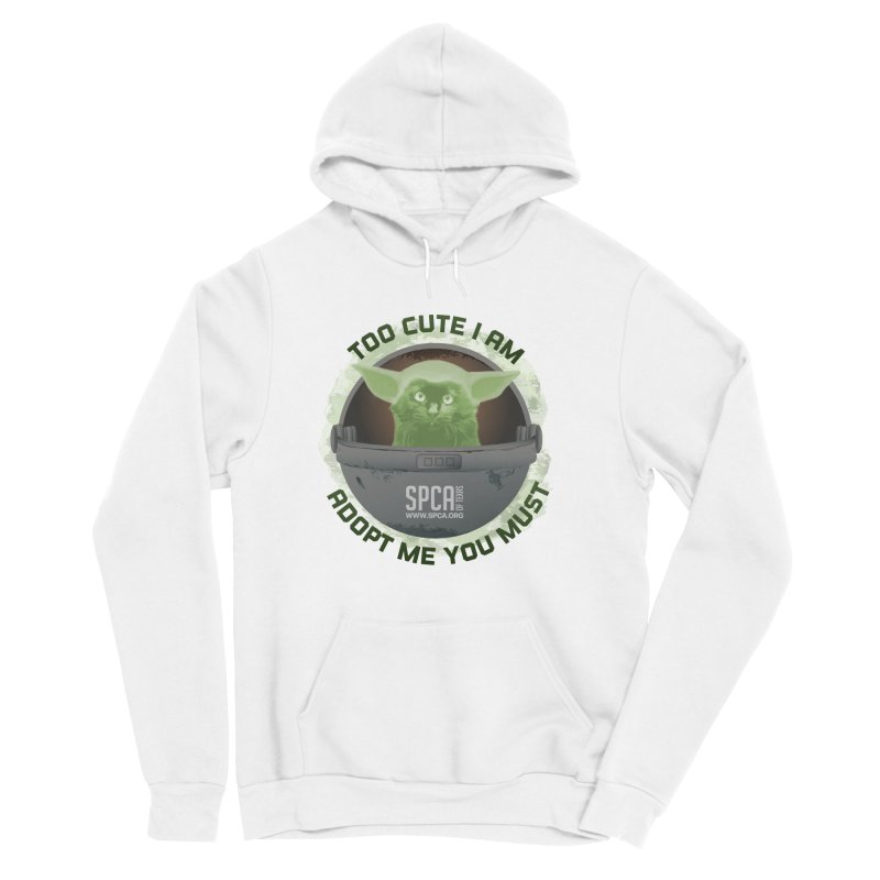 LIMITED EDITION - Baby Yoda Men's Sponge Fleece Pullover Hoody by SPCA of Texas' Artist Shop