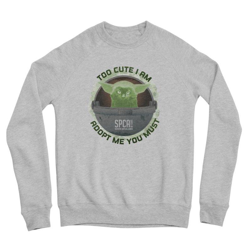 LIMITED EDITION - Baby Yoda Men's Sponge Fleece Sweatshirt by SPCA of Texas' Artist Shop