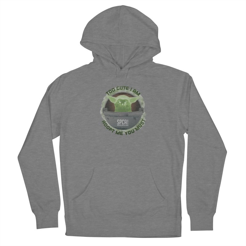 LIMITED EDITION - Baby Yoda Women's French Terry Pullover Hoody by SPCA of Texas' Artist Shop