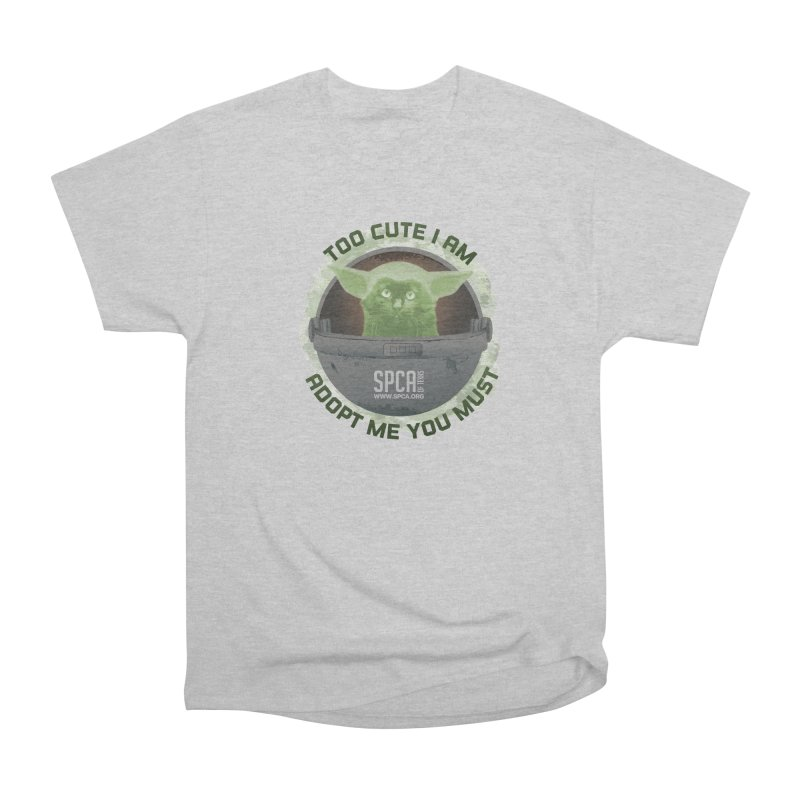 LIMITED EDITION - Baby Yoda Men's Heavyweight T-Shirt by SPCA of Texas' Artist Shop